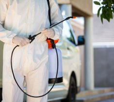 discreet, reliable, efficient disinfection & pest control services